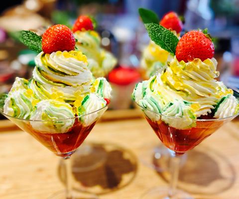 🌺 Salade de Fruits au Limoncello et Chantilly 🌺