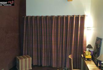 rideaux chambre enfant arabesque