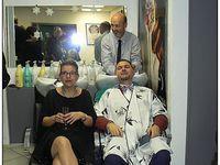 Saint André les Alpes : Pascal, notre coiffeur a soigné la coupe de son dernier client