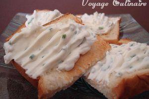 Fromage frais échalote - ciboulette au kéfir de lait