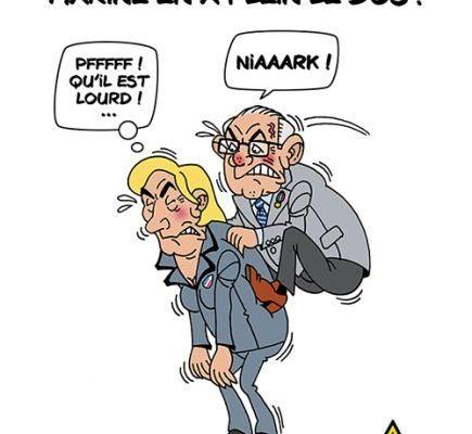 Marine Le Pen c'est fini ! 74 % des français stoppent le FN. Ouf !