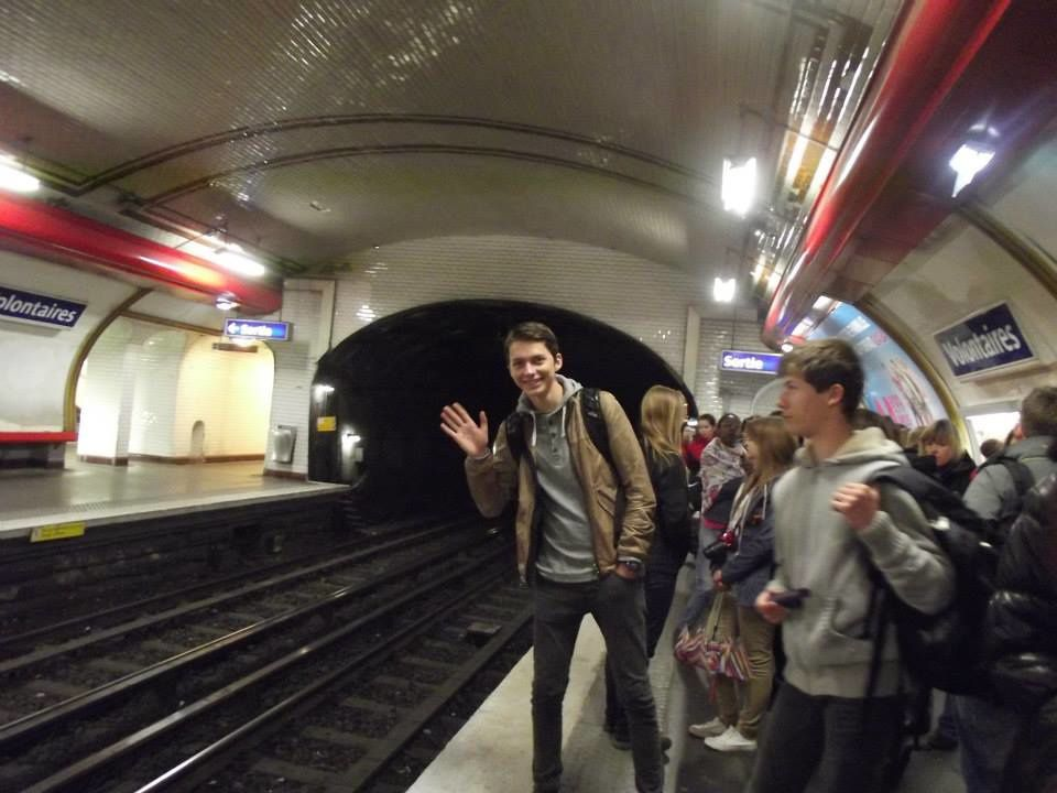 Pour la majorité des élèves c´était la première rencontre avec Paris