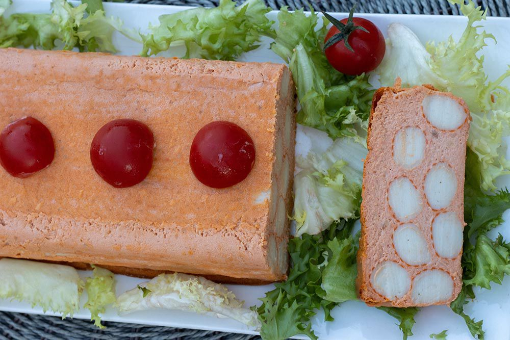 Terrine de surimi à la tomate
