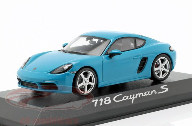 1/43 : La Porsche 718 Cayman S de Minichamps à 19,95 €