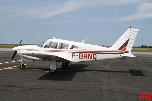 Le Piper PA-28R-200 Cherokee Arrow F-BRNQ.
