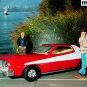 FORD GRAN TORINO 1976 CORGI 1/36 STARSKY ET HUTCH SERIE TV FEUILLETON. - car-collector.net