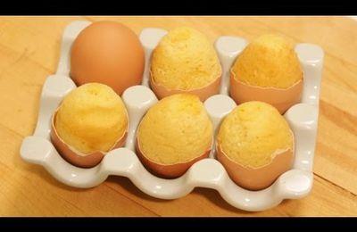 Comment faire cuire un cake au centre de l'œuf