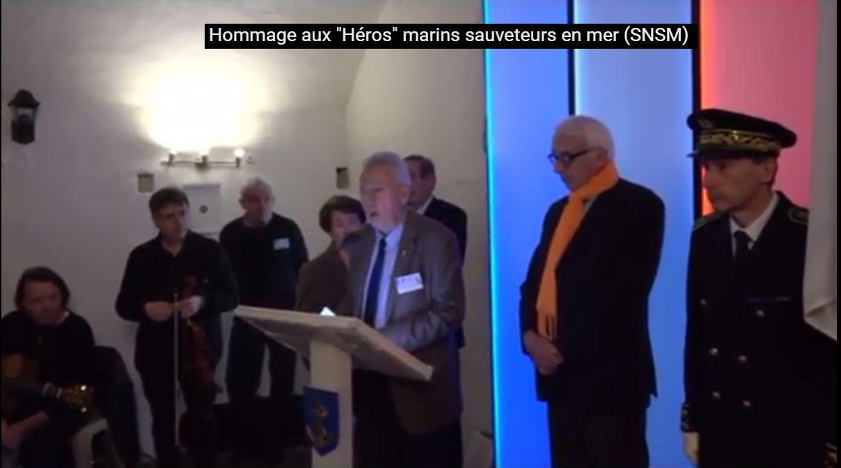 SNSM - Aux Marins - Mémorial national des marins morts pour la France - Cénotaphe