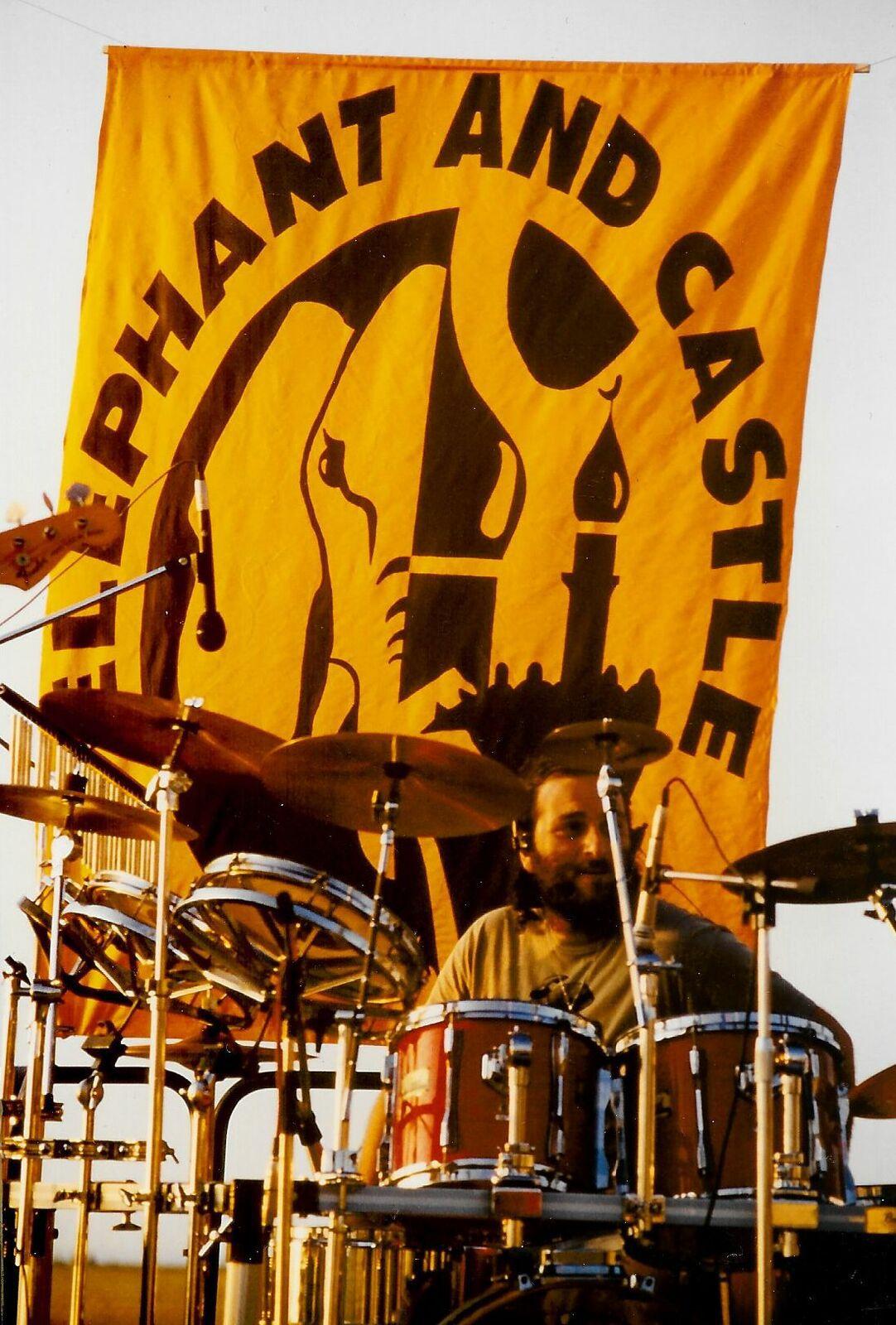 Avedis is THE Elephant & Castle drummer
