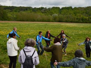 Marche nordique à l'ultra trail de la brie des morins