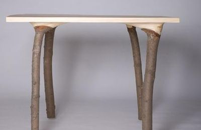 Table en bois hybride
