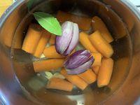 Crumble de carottes au citron et au parmesan