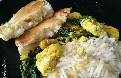 Recettes indiennes : Naans, currys et paneer – Slowly Veggie !