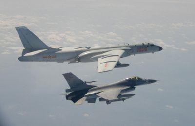 Depuis janvier près de 700 incursions d'avion de guerre chinois dans l'ADIZ de Taïwan