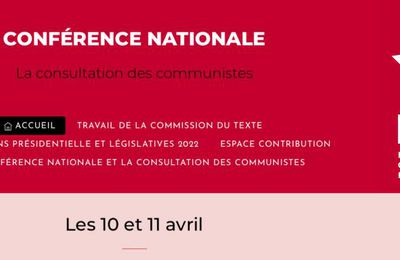 10 & 11 avril, France - Conférence nationale des communistes