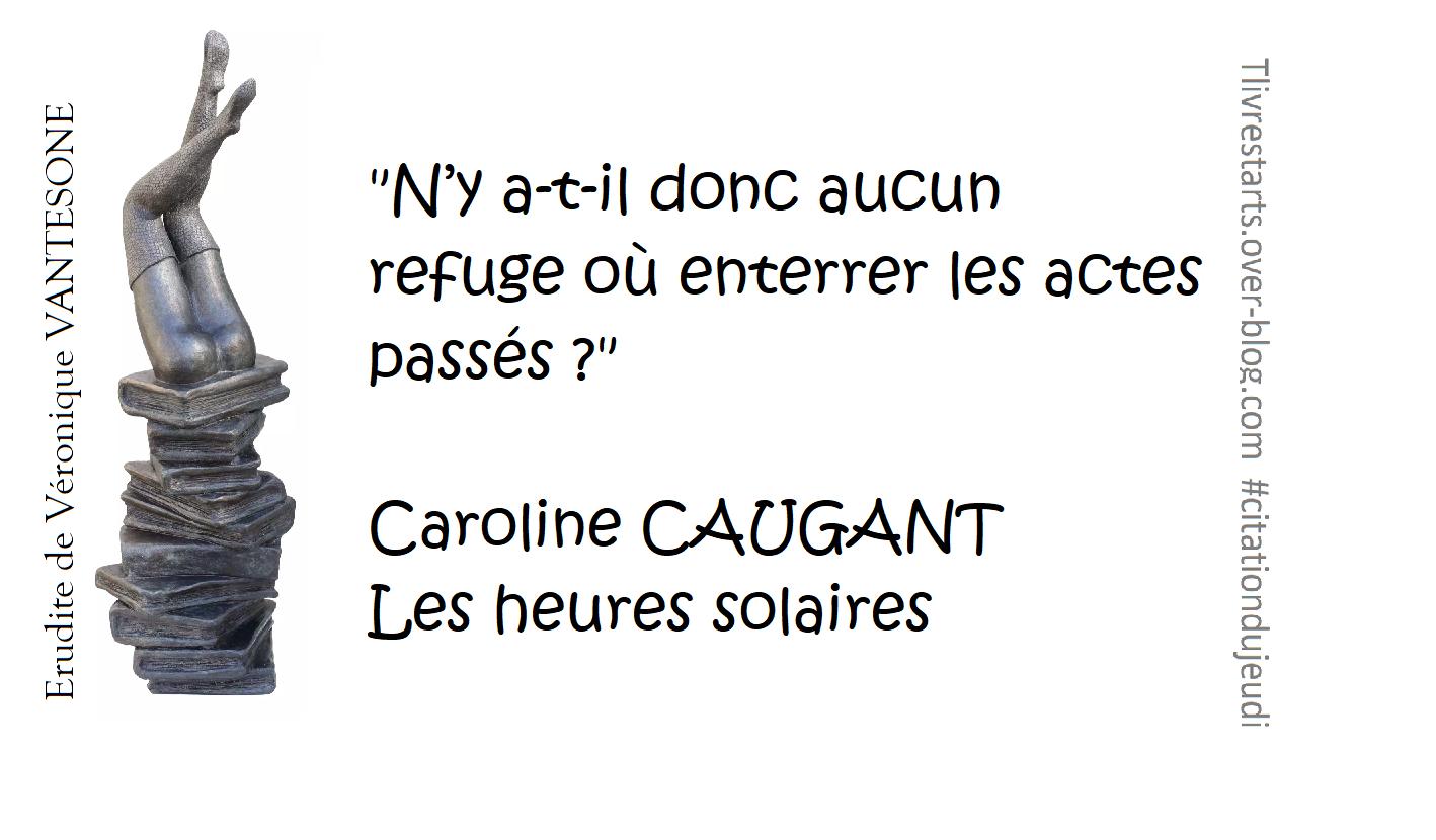 Les heures solaires de Caroline CAUGANT
