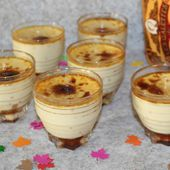 Crème aux œufs sur un lit de crème de caramel au beurre salé - Chez Vanda
