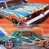 64 PONTIAC GTO BERLINE HOT WHEELS 1/64 - car-collector.net