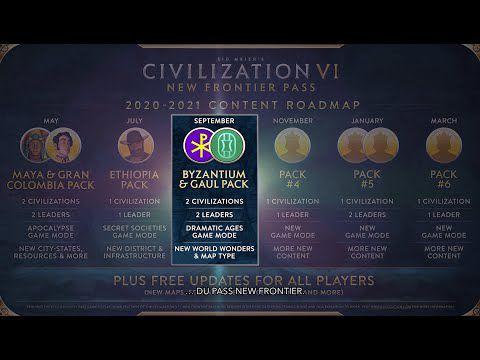 [ACTUALITE] Civilization VI - Pass New Frontier : Pack Byzance et Gaule annoncé pour le 24 septembre