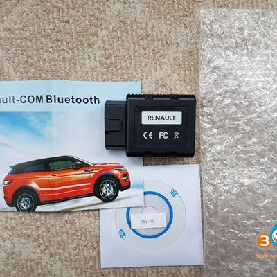 Renault-COM Bluetooth and Software Review on Win10