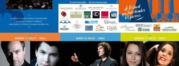 Festival de Glanum - 19, 20 et 21 juillet 2019 - Saint-Rémy-de-Provence