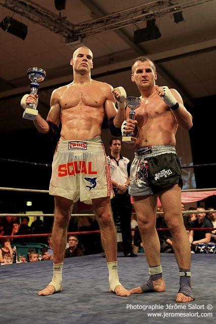Boxe in Défi XIII Combat de Boxe Thaïlandaise des -75Kg (3x5) Pascal CASTET vs Stadjan DRAGISIC