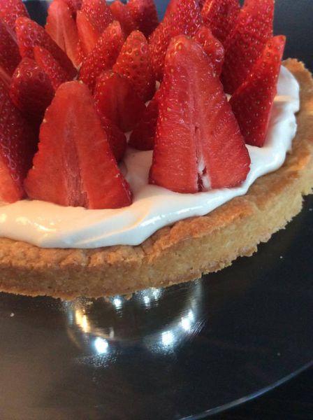 tarte fraise et mascarpone