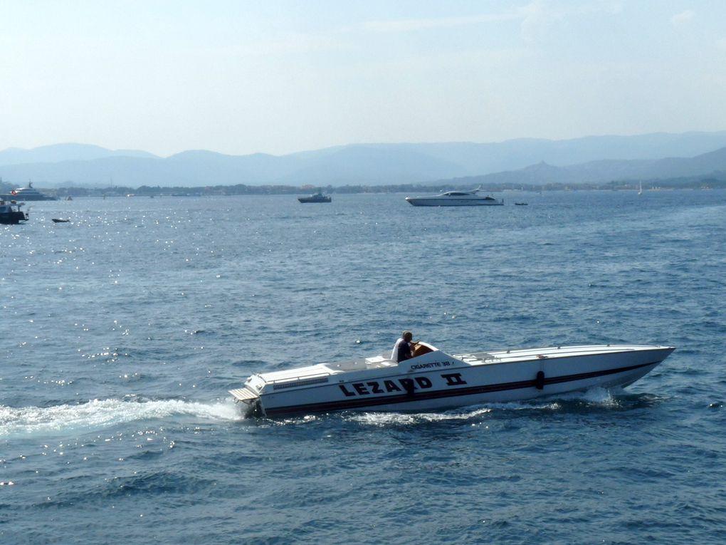 LEZARD  II , dans le golfe de Saint Tropez  le 18 aout 2018