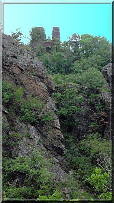 Diaporama des 2 châteaux à La Salvetat Peyralès