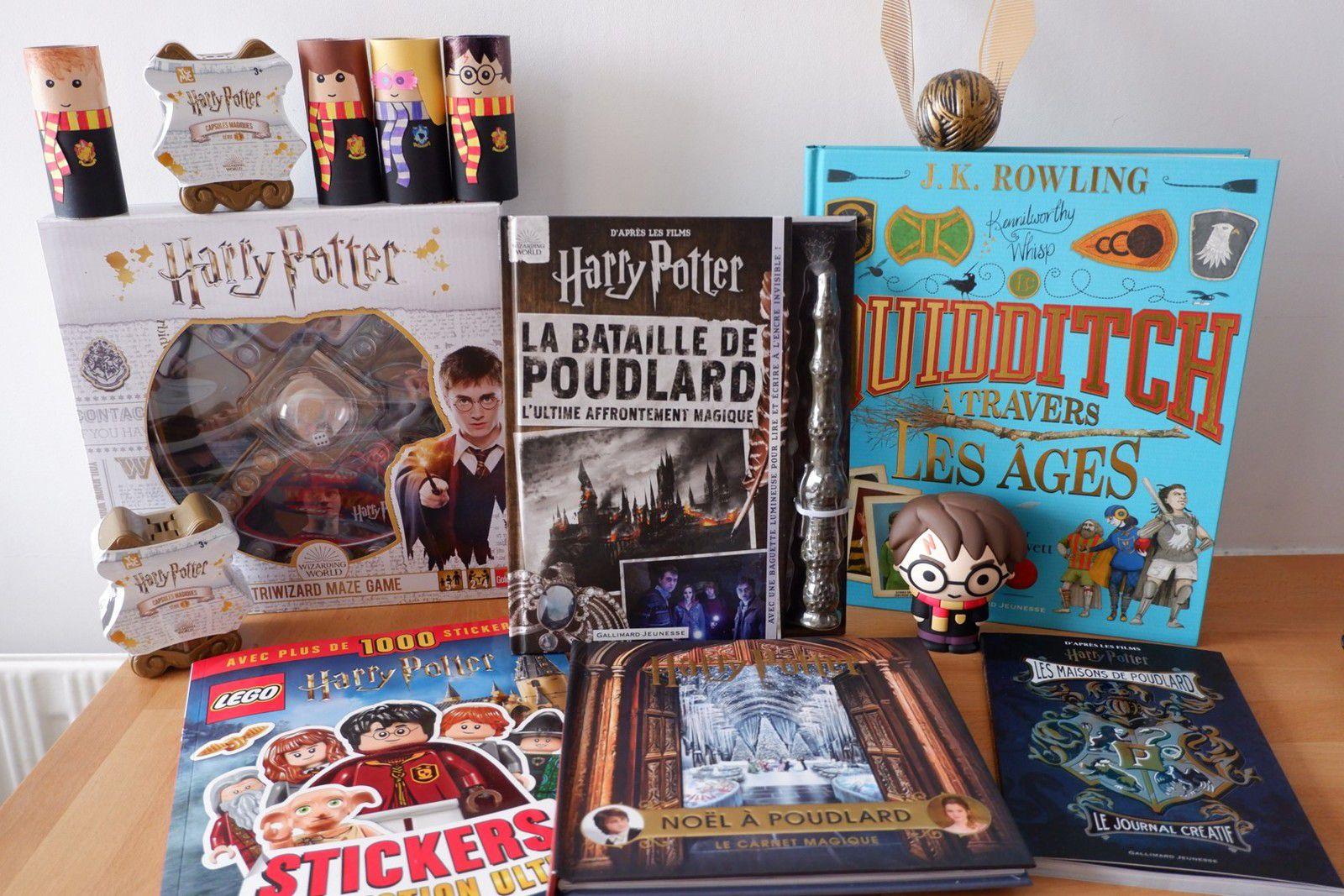 Cadeaux Harry Potter : livres et jeux de société !