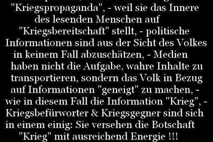 Krieg & Propaganda: