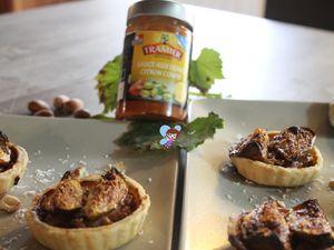 Tartelettes canard et figue
