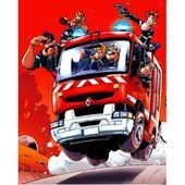 Les pompiers - Les écrits d'isa