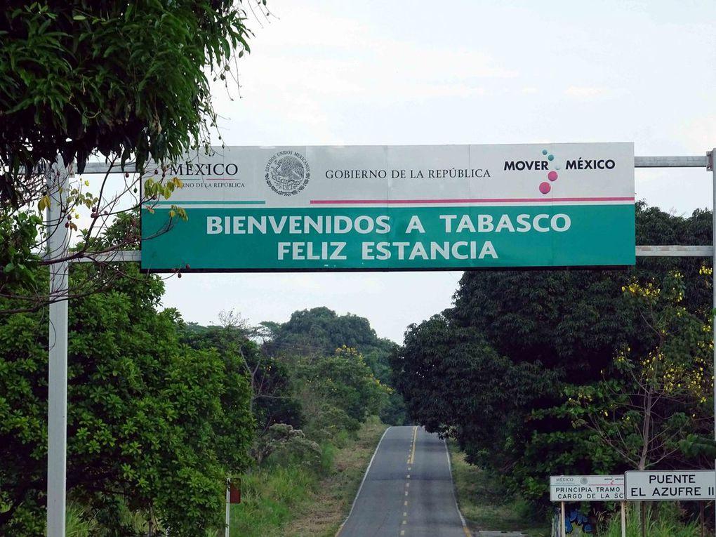 Oaxaca à Frontera Corosal