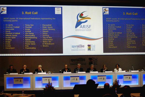 """UIM: Assemblée Générale de l' ARISF, 2014: """"Tenir ses promesses """""""