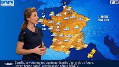 2012 12 30 - SANDRA LARUE - BFM TV - LA METEO @21H20