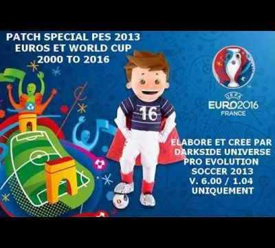 PATCH WC-EUROS 2000 to 2016 By Darkside