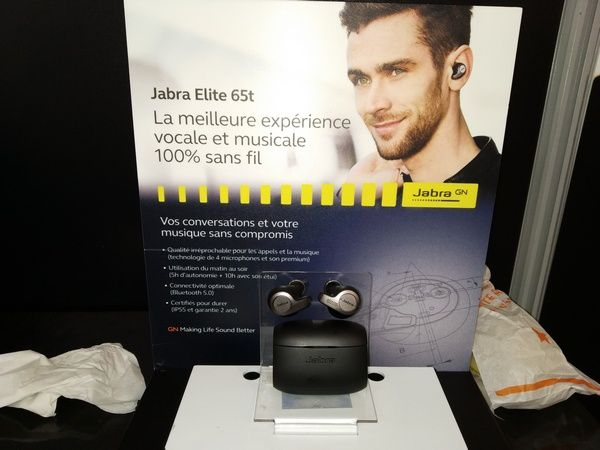 Jabra GN- Elite 85h @ Sound Days 2019 (Carreau du Temple - Paris) - Tests et Bons Plans