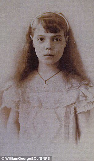 Secret letters from Grand Duchess Olga Alexandrovna (pictured) show her hatred of the British for not doing enough to save her family, the Romanovs, from execution