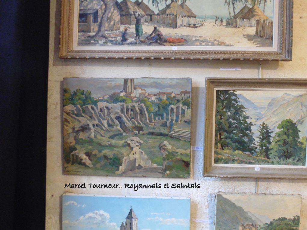 Une photo d'archives de l'auteur de Culture-Histoire prise au domicile de la famille de Marcel Tourneur: Une vision fiction du passé de notre ville antique (il y en avait bien d''autres...)