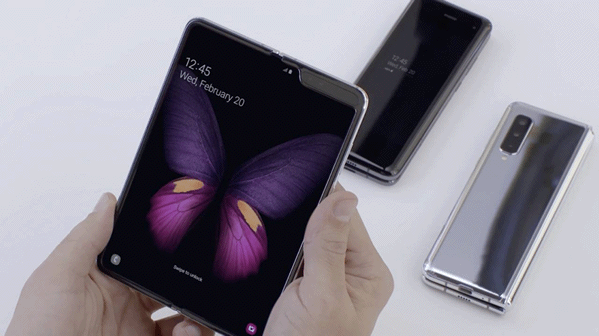 Le Samsung Galaxy Fold sera doté de la technologie d'optimisation des applications intégrée