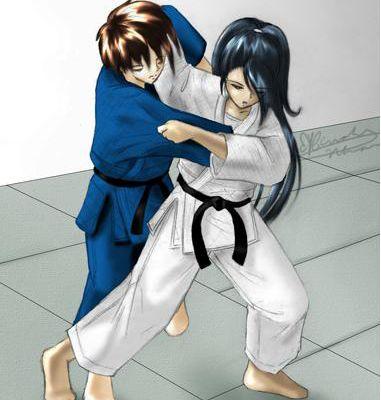 Taï otoshi, version manga