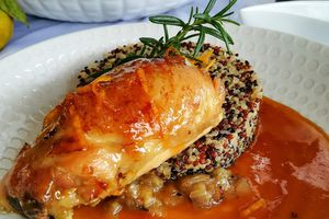 Poulet, sauce Orange Aigre Douce