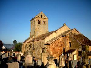 Saint-Ferréol à Curgy : un solide témoin de l'époque romane