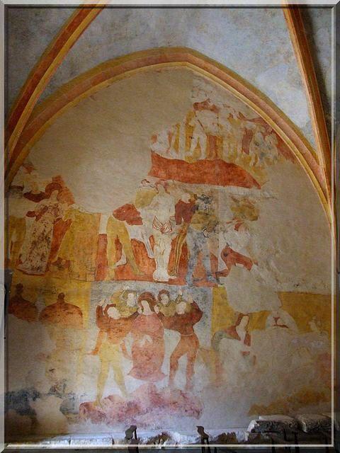 Diaporama église fortifiée de Besse