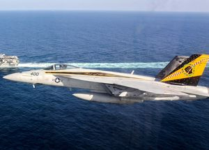 """Boeing F/A-18E Super Hornet """"Rhino"""" - VFA-25 """"Fist of the fleet"""" special """"Happy Holidays"""""""