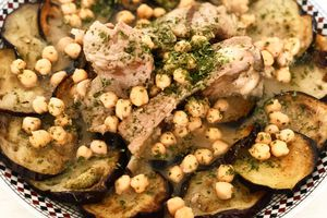 Mdarbel d'aubergine (ragoût d'aubergine)