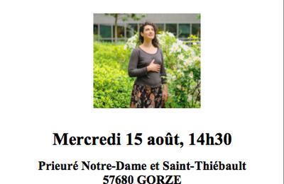 Concert du 15 août - Chant sacré à Béthanie