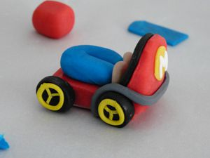 Gâteau Mario Kart