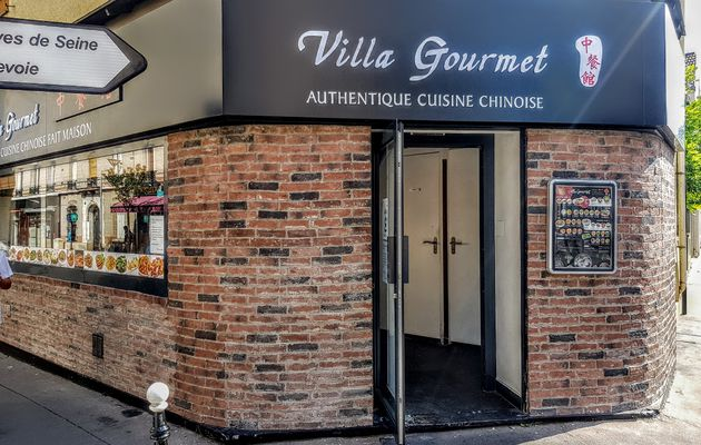 "Villa Gourmet (Courbevoie) : made in ""vraie"" china"